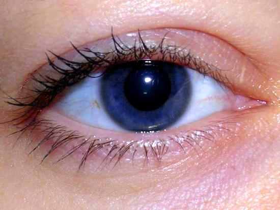 Cambiar color de ojos