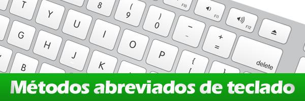 Colocar nuestro propio métodos abreviados de teclado