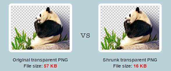 Comprimir imágenes PNG