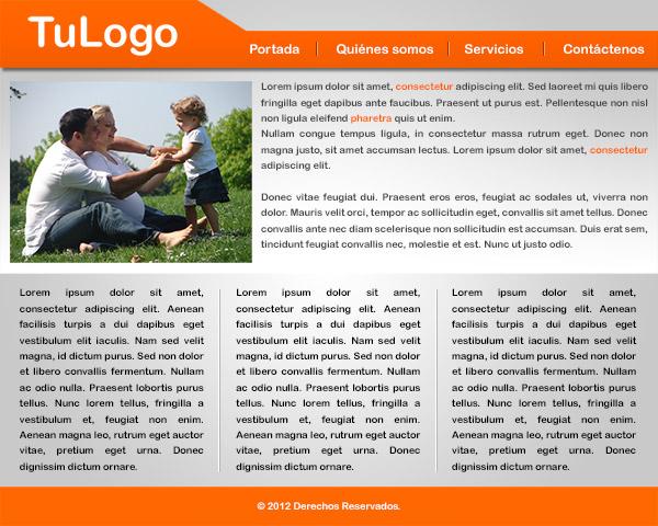 Diseño web en Photoshop CS6