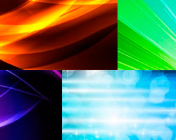 Fondos luminosos para tus diseños