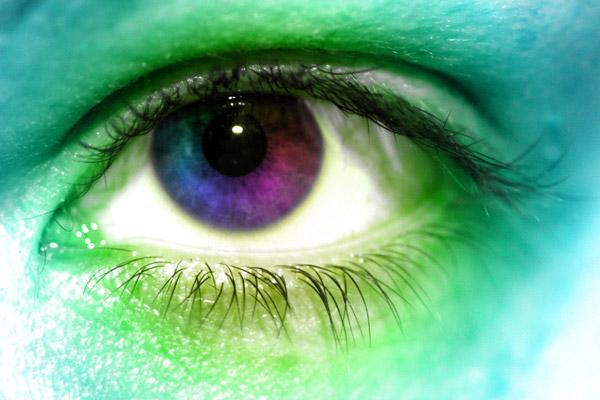 Ojos de colores con Photoshop