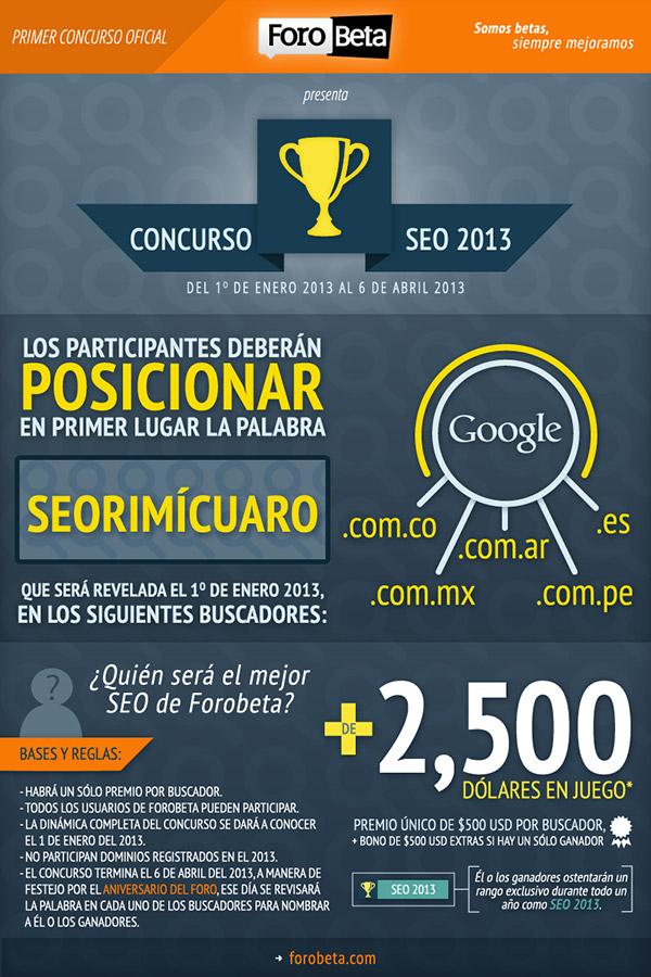 Seorimícuaro, el concurso SEO de Forobeta