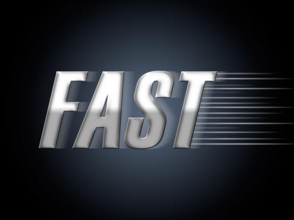 Velocidad en texto simple