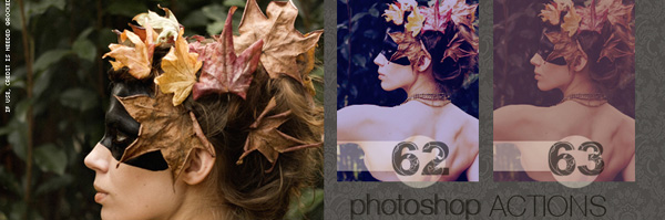 Acciones para el efecto Vintage en Photoshop