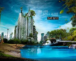 Alexander Koshelkov: Imágenes impresionantes creadas en Photoshop