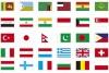 Conjunto de banderas vectoriales