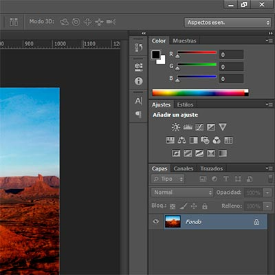 Paletas en Photoshop