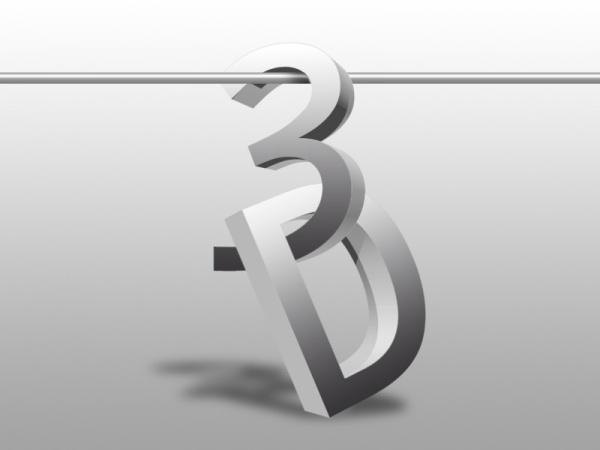Texto 3D en Photoshop CS5