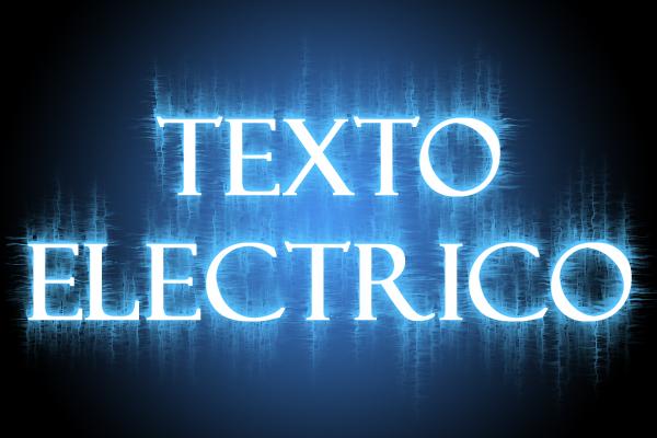 Texto eléctrico