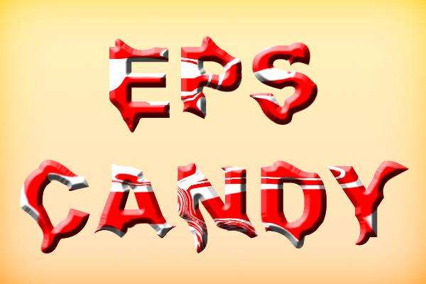 Texto tipo caramelo